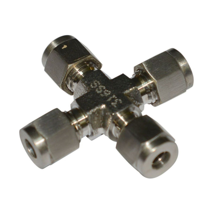 Union Cross Single Ferrule | Fig. SUC | Instrumentation Fittings