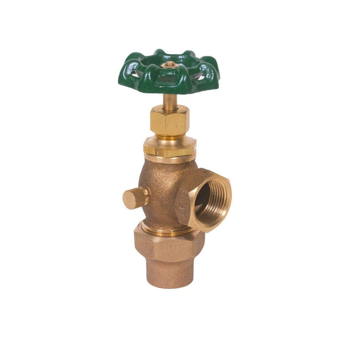 Style 434 | Meter Valve | Lead Free | With Drain