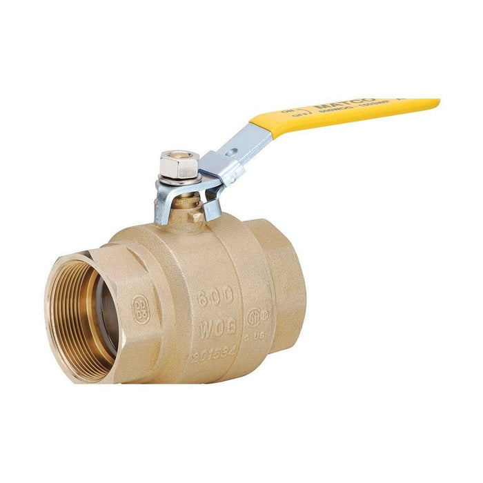 Style 759 | Brass Ball Valve | Forged Brass | Full Port