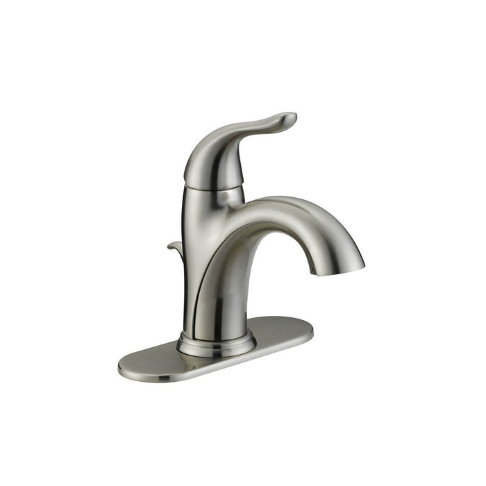 Style BL-500 | Builder Light | Single Handle | Lavatory Faucet | Brushed Nickel