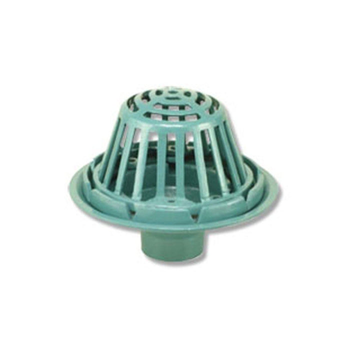 Style CIRD | Roof Drain | Bolt Down Gravel Guard & Metal Dome