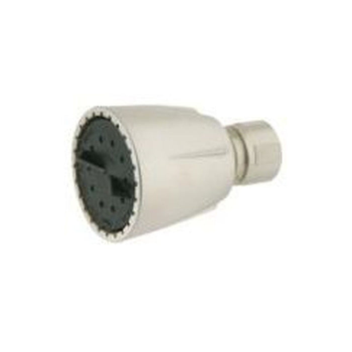 Style S-125 | Standard Plastic Showerhead | Single Function | Watersaver | With Brushed Nickel Finish