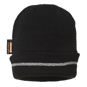 Style B023 Knitted Hat Reflective Trim-1