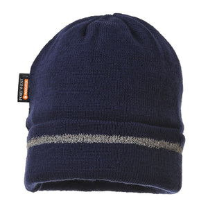Style B023 Knitted Hat Reflective Trim-2