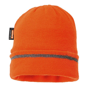 Style B023 Knitted Hat Reflective Trim-3