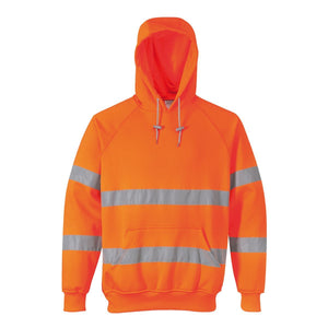 Style B304 HiVis Hooded Sweatshirt-1