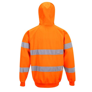 Style B304 HiVis Hooded Sweatshirt-2