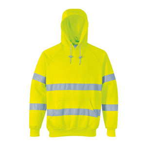 Style B304 HiVis Hooded Sweatshirt-3