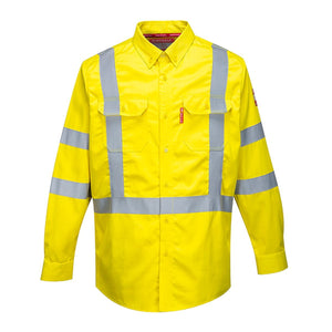 Style FR95 HiVis Bizflame Shirt 8812-1