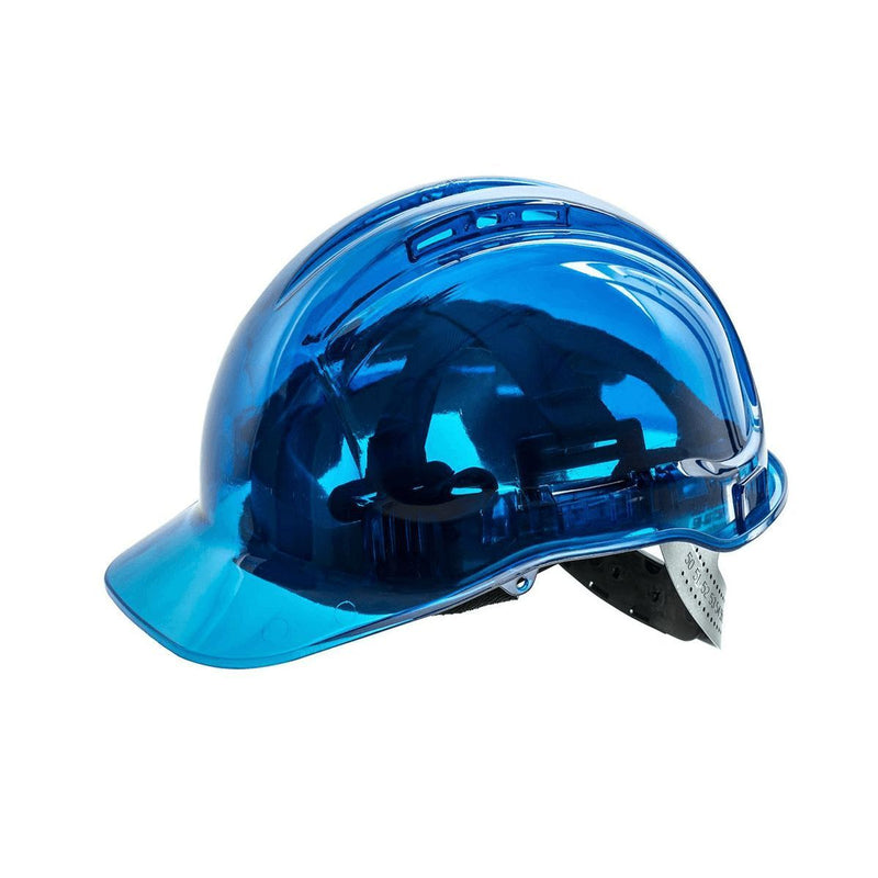 Style PV60 Hard Hat Vented Translucent Peak View-1