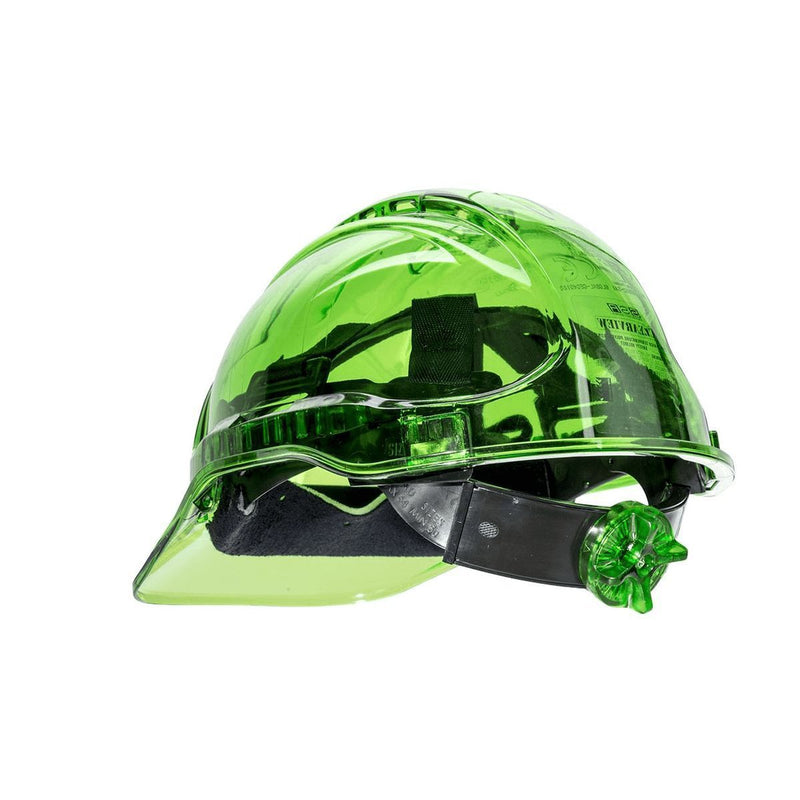 Style PV64 Hard Hat Vented Translucent Electrical Class G 2,200 Volt-2