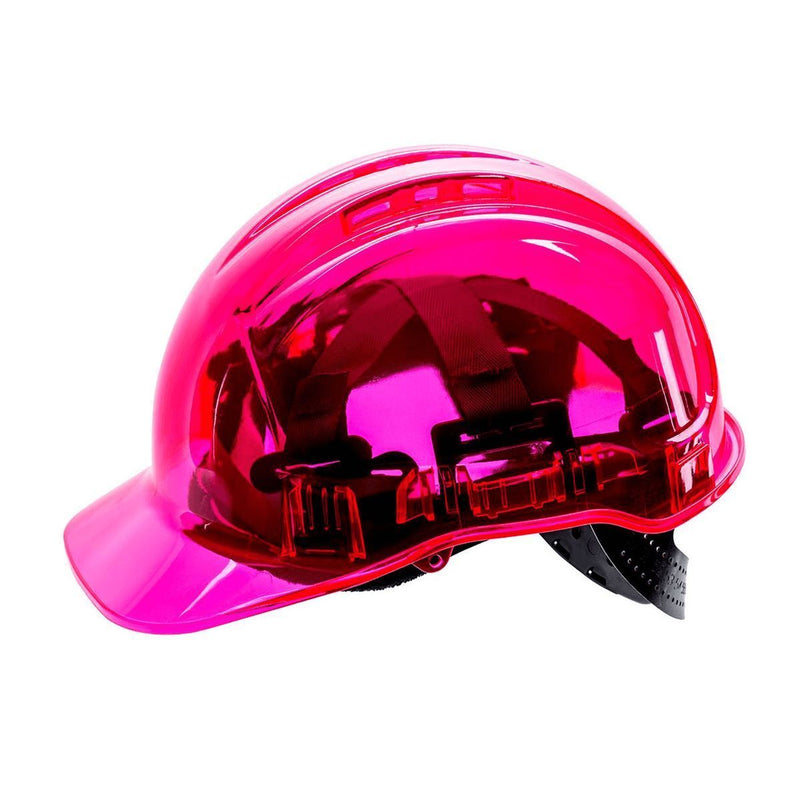 Style PV64 Hard Hat Vented Translucent Electrical Class G 2,200 Volt-4