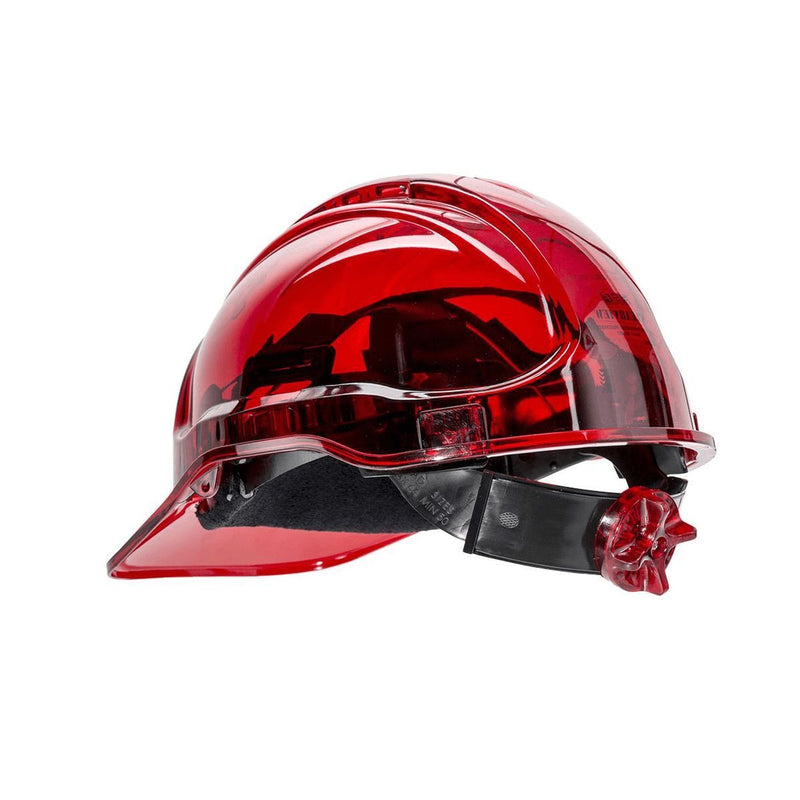 Style PV64 Hard Hat Vented Translucent Electrical Class G 2,200 Volt-5