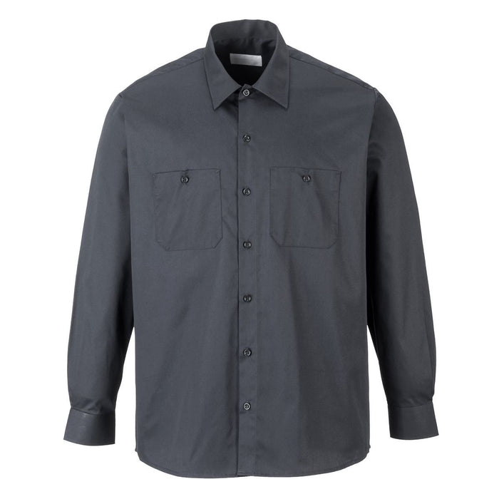Style S125 | Industrial Work Shirt L/S
