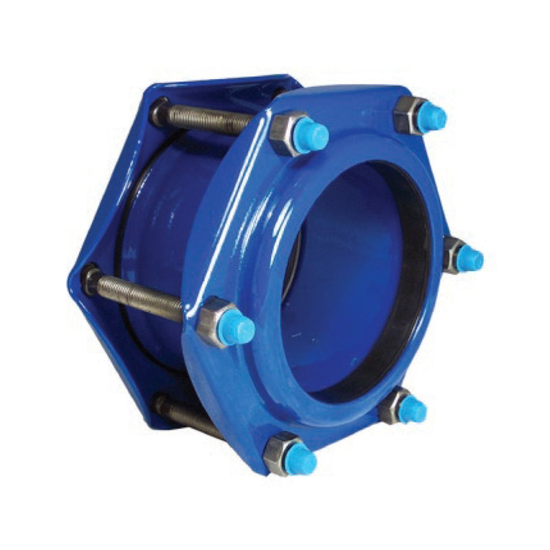Style 411 Steel Coupling Cast & Ductile Iron Pipe-1
