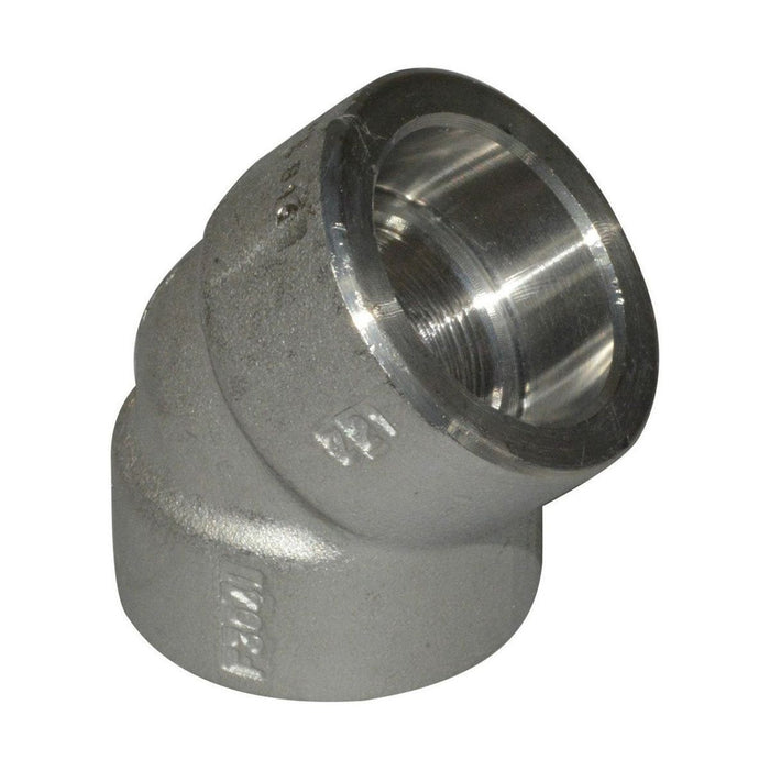 45 Elbow | Socket Weld Fittings | A105 | Domestic
