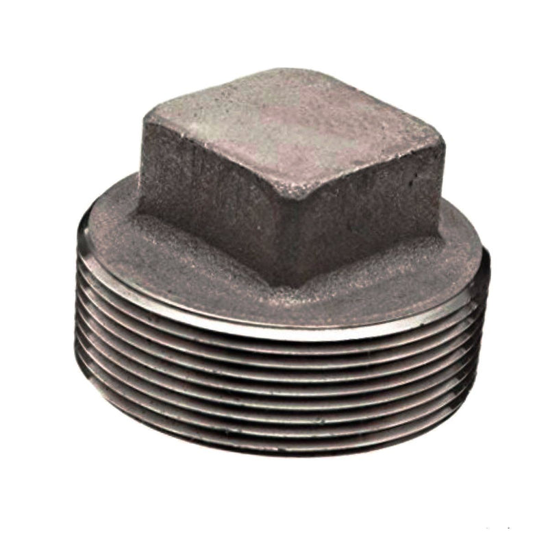 Square Head Plug | A105 | Profile