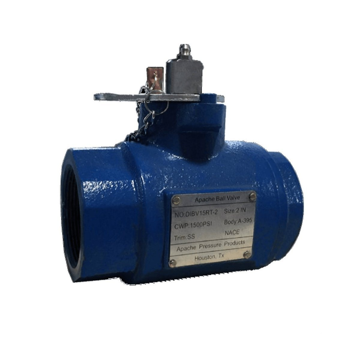 Oil Field Ball Valve | Two Piece | Ductile Iron