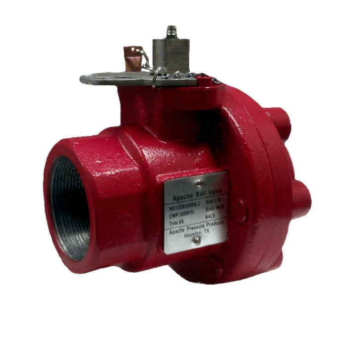 Oil Field Ball Valve | Two Piece | Carbon Steel