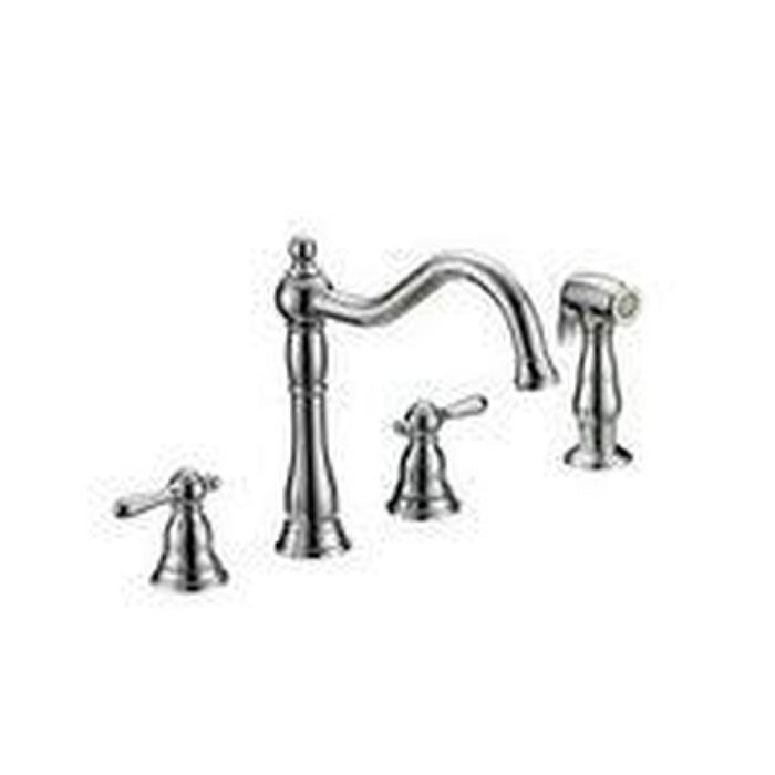 Style CR-241 | Crescendo | Two Handle | Kitchen Faucet | Chrome