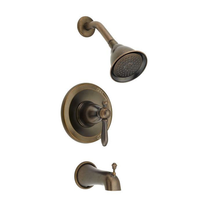 Style PA-730 | Portia | Tub & Shower Trim, Diverter Spout | Bronze