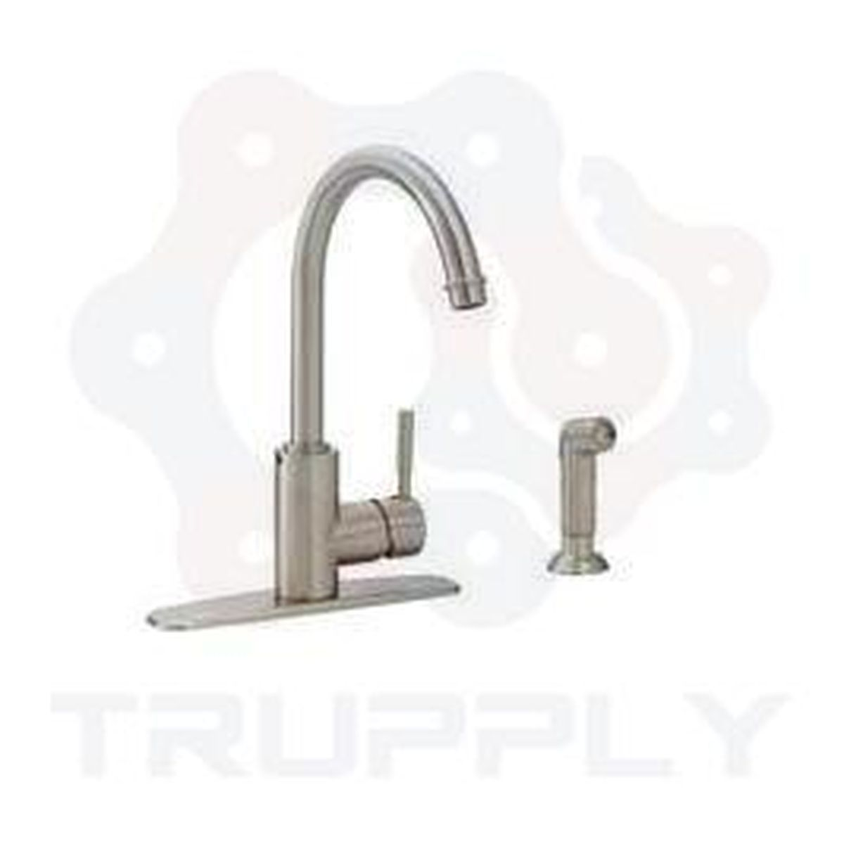 Style PD-140 | Padova | Single Handle | Kitchen Faucet | Stainless Steel