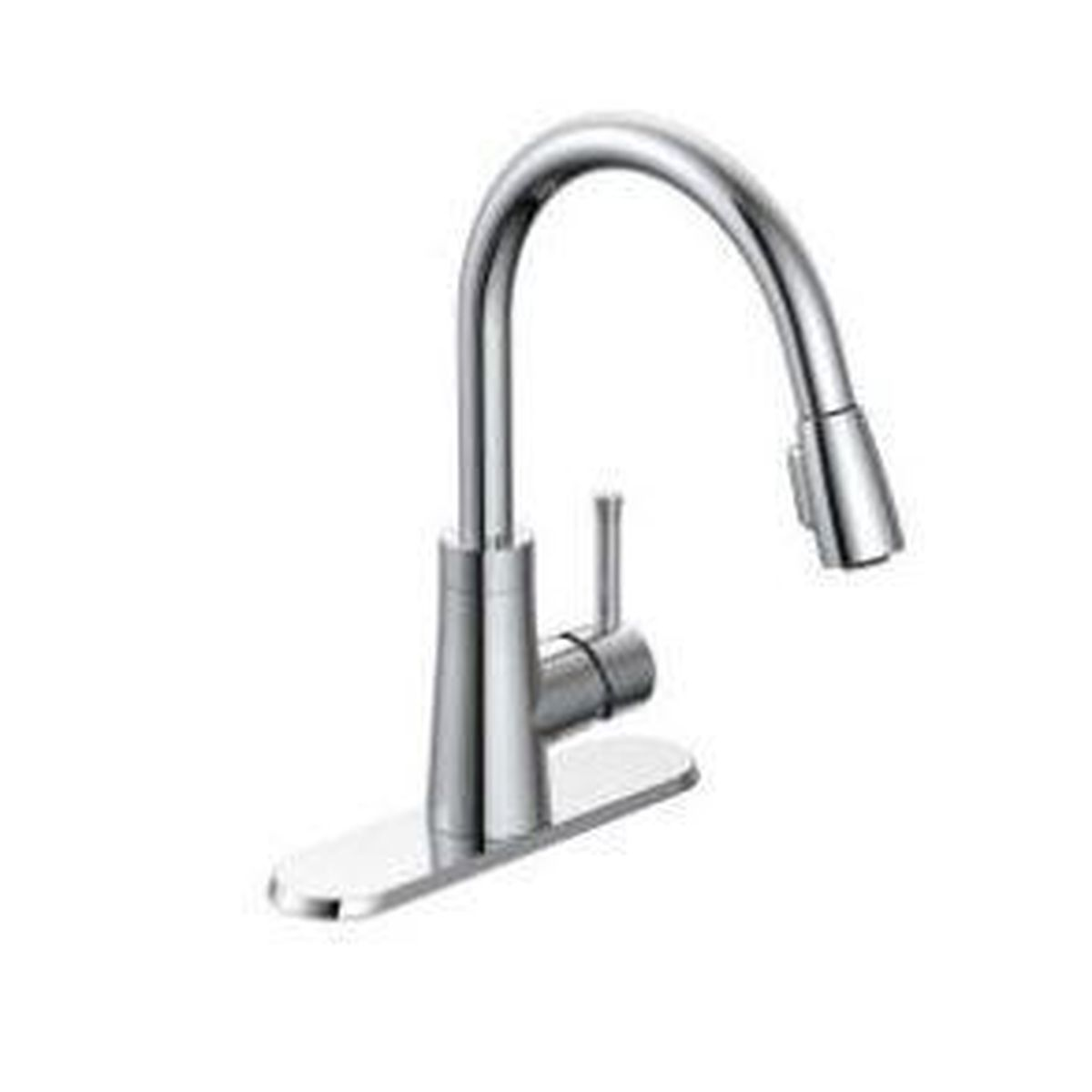 Style PD-150   Padova   Single Handle   Kitchen Faucet   Pulldown   Chome