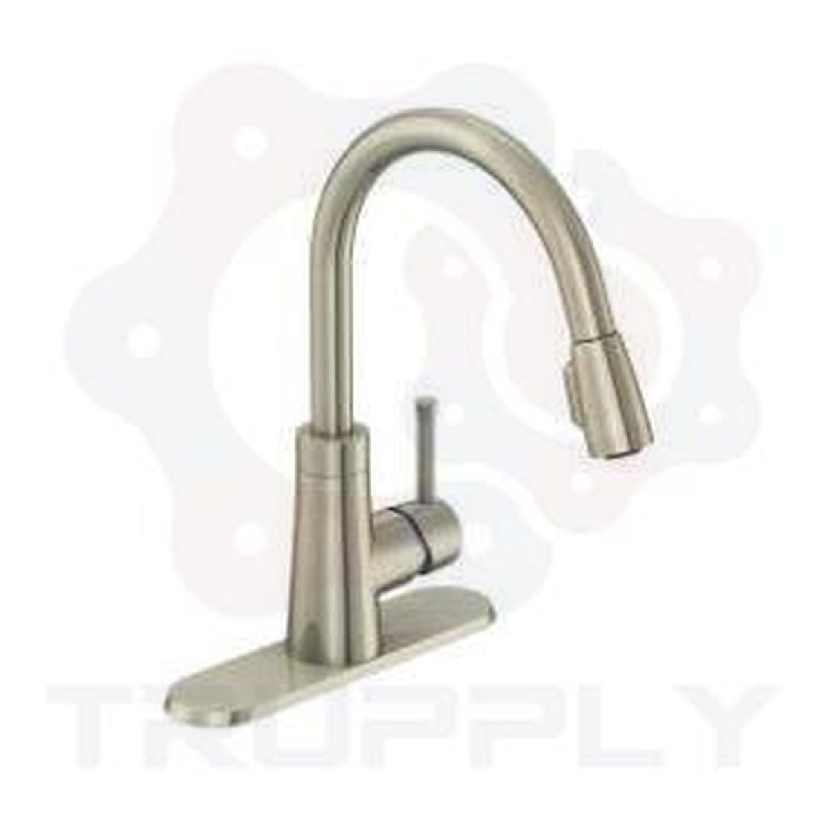 Style PD-150 | Padova | Single Handle | Kitchen Faucet | Pulldown | Chome