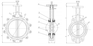 Butterfly Valve | Short Pattern | Lug | DI Body