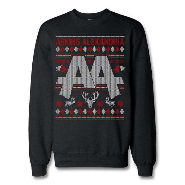 Holiday Crewneck Sweatshirt - Asking Alexandria Official Store
