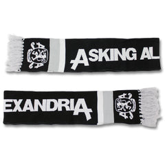 Official Asking Alexandria Family Crest Knit Scarf