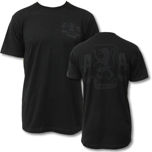 Limited Edition BLACKOUT Family Crest T-shirt