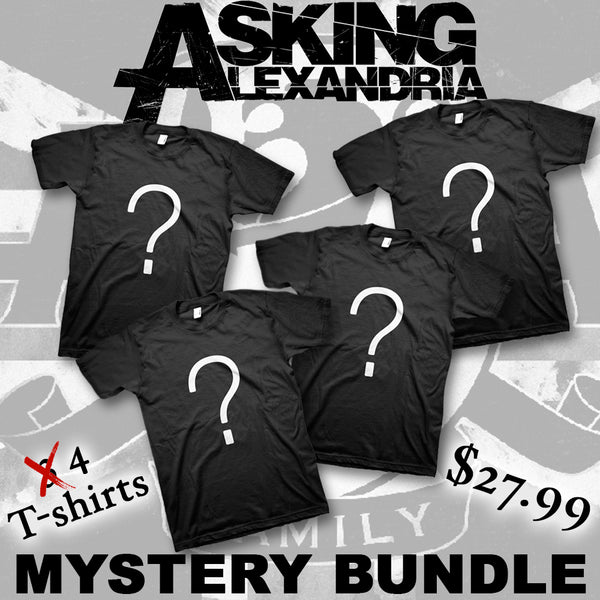 Men's Mystery T-shirt Bundle (4 shirts)
