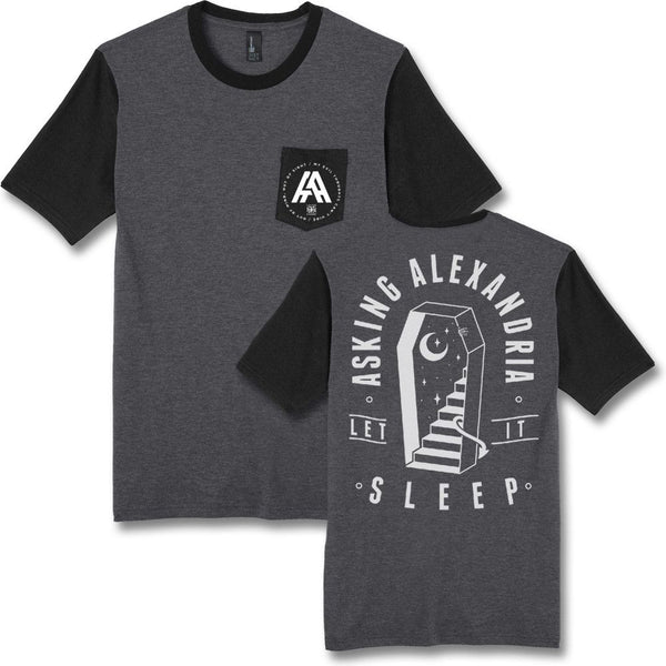Sleep Pocket T-shirt - Asking Alexandria Official Store