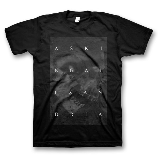 Blackened Skull T-Shirt - Black
