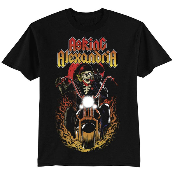 Ride for Death T-Shirt - Asking Alexandria Official Store - 1