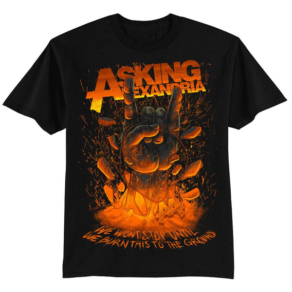 Metal Hand T-Shirt - Asking Alexandria Official Store - 1