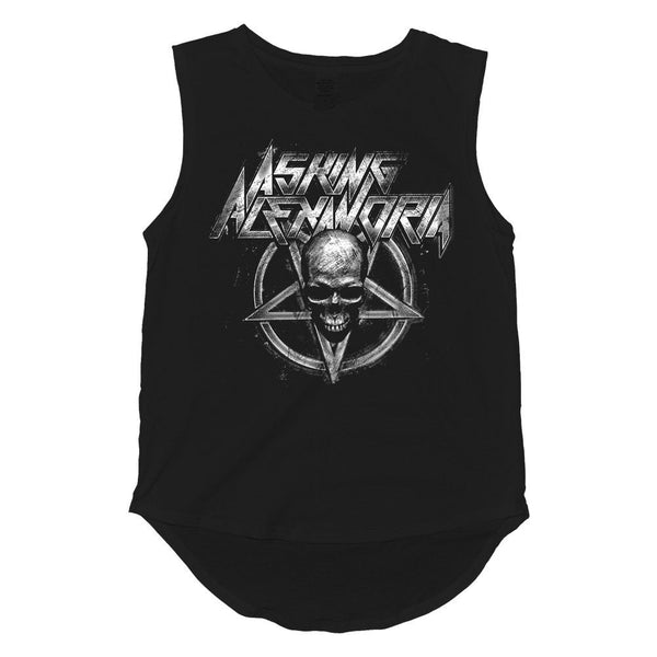 Death Metal Muscle Tank - Women's - Asking Alexandria Official Store - 1