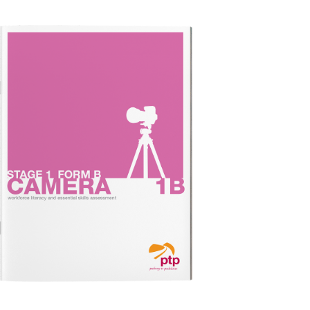 CAMERA STAGE 1B Test Booklet