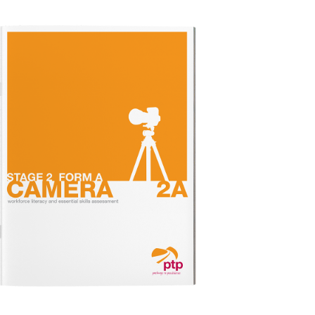 CAMERA STAGE 2A Test Booklet