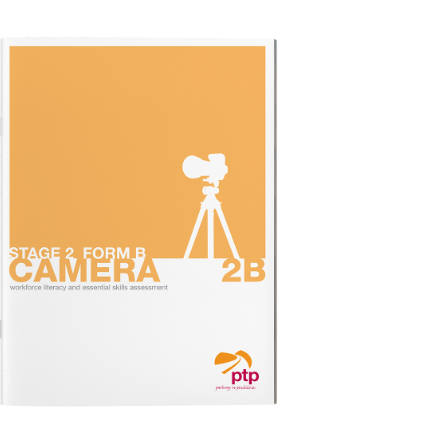 CAMERA STAGE 2B Test Booklet