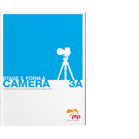 CAMERA STAGE 3A Test Booklet