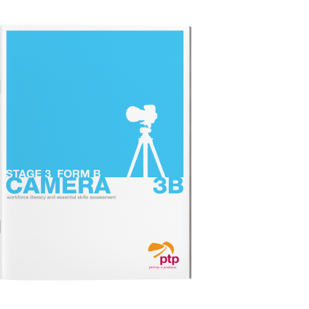 CAMERA STAGE 3B Test Booklet