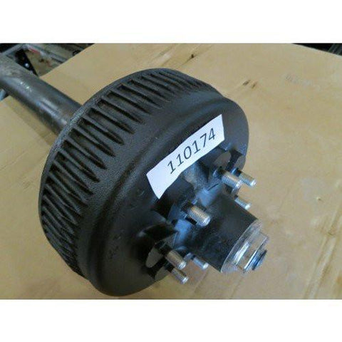 Dexter 8K Axle - Electric Brakes - 76x58