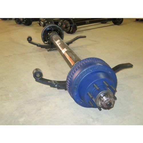 QRG 10K Axle - Electric Brakes - 74X46 10K Axle QRG