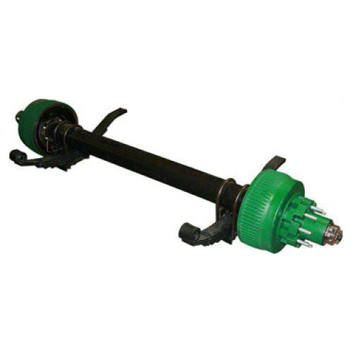 "QRG 12K Axle - Electric Brake - 4.88"" Pilot 12K Axle QRG"
