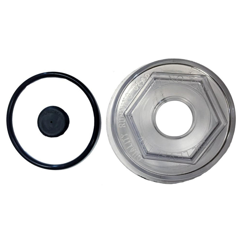 Oil Cap Kit for QRG Axles - 9K-10K-12K Oil Caps QRG