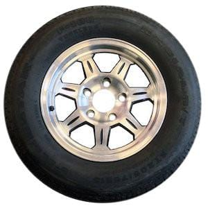 205/75R15 on 550 Aluminum Wheel Tire with Aluminum Rim PJ Trailers (tires)