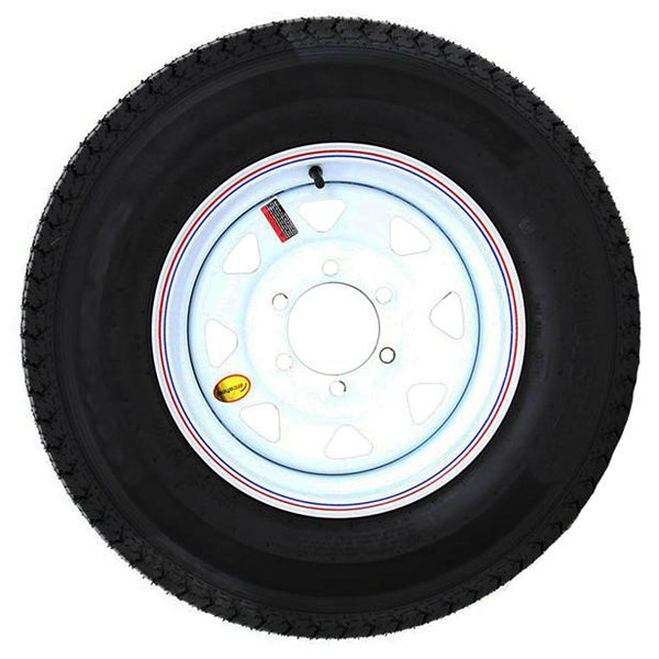 225/75R15, 6 Hole Tire with Steel Rim PJ Trailers (tires)