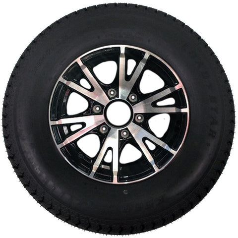 225/75R15, 6 Hole, Aluminum Wheel